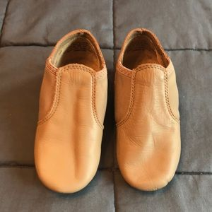 Capezio split sole elastic bootie jazz dance shoes